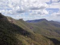 Ausblicke beim Klettern
