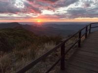 Sonnenuntergang Mt Kaputar