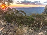 Sonnenuntergang West Kaputar