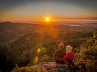 Sonnenaufgang Mt Kaputar